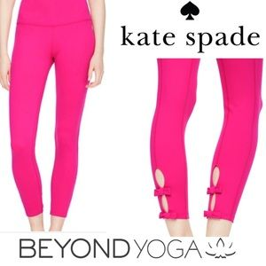 Beyond Yoga Kate Spade New York Capri Leggings XSM